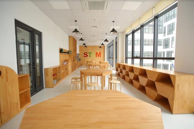 """""""Lạc lối"""" trong ngôi trường Tiểu học đẹp ngỡ ngàng tại Hà Nội - Ảnh 6."""