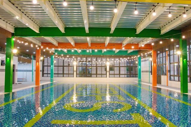 Top những bể bơi nước mặn ở Hà Nội mà bạn và gia đình không thể bỏ qua hè này - Ảnh 3.