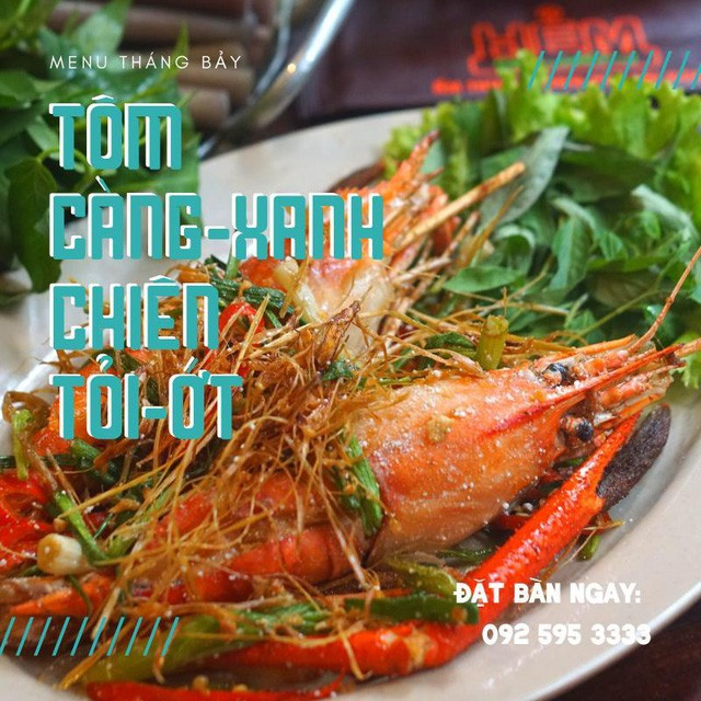 Hẻm quán ra mắt menu đặc biệt, Tôm càng xanh ngon khó cưỡng - Ảnh 3.