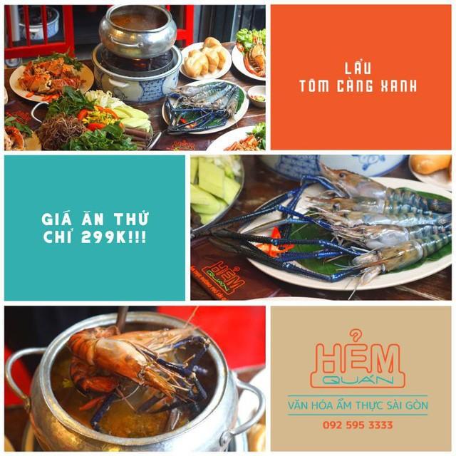 Hẻm quán ra mắt menu đặc biệt, Tôm càng xanh ngon khó cưỡng - Ảnh 5.