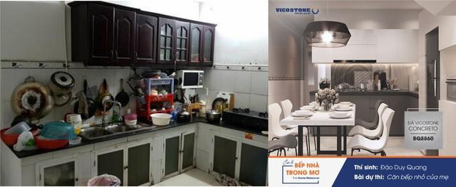 """Mãn nhãn với """"sự lột xác"""" của những căn bếp tại cuộc thi """"Bếp nhà trong mơ"""" - Ảnh 7."""