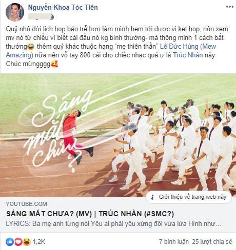 """Cả cộng đồng mạng lẫn dàn sao Việt đều điêu đứng vì loạt ca từ quá """"bạo"""" và màn cướp rể trong MV của Trúc Nhân - Ảnh 8."""