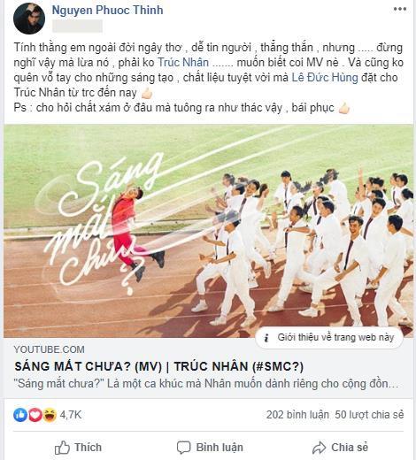 """Cả cộng đồng mạng lẫn dàn sao Việt đều điêu đứng vì loạt ca từ quá """"bạo"""" và màn cướp rể trong MV của Trúc Nhân - Ảnh 9."""
