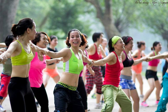 Điểm danh những bữa tiệc nhảy siêu to khổng lồ thu hút hàng nghìn người của Lamita Dance Fitness - Ảnh 3.