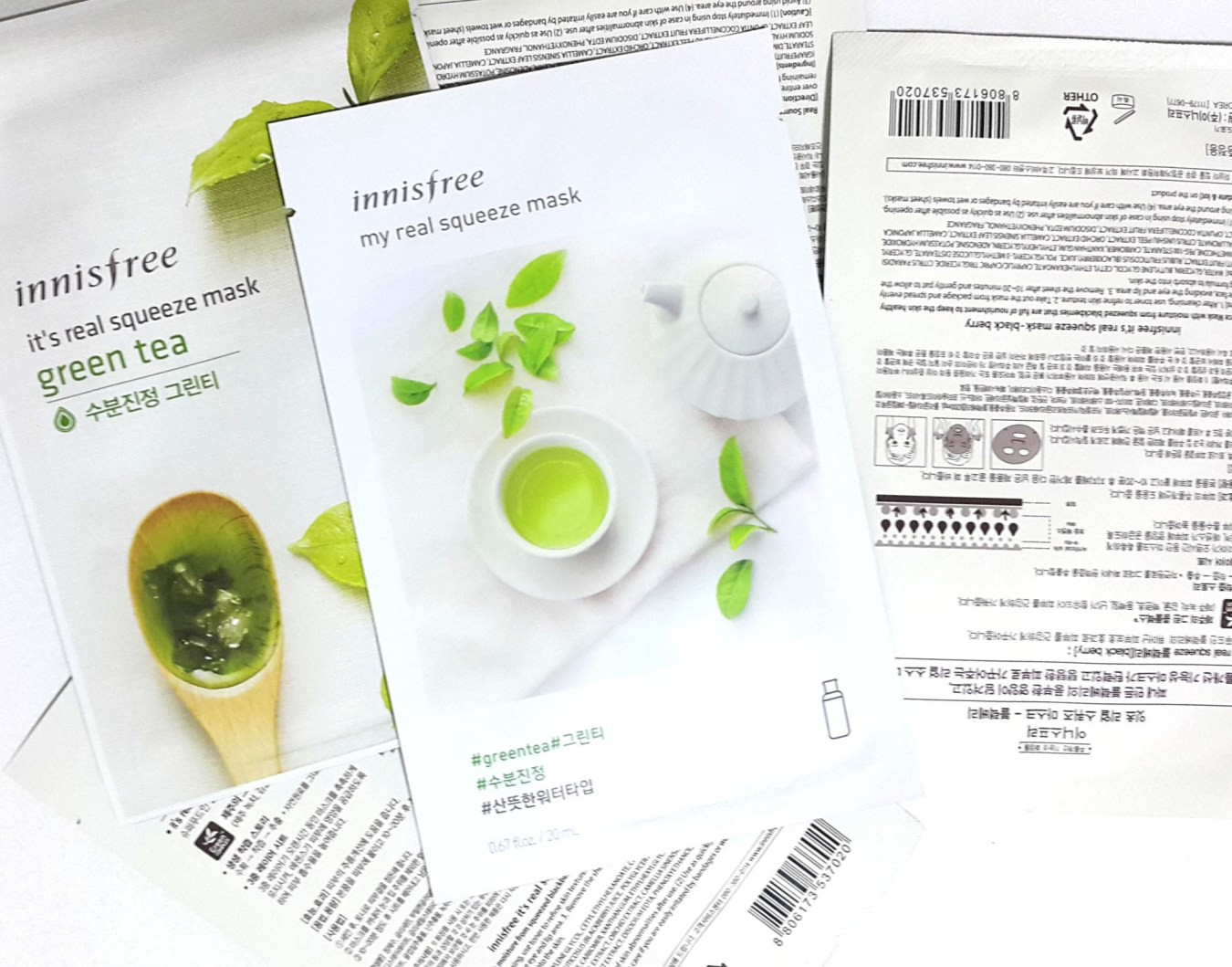 NEW-2017-Innisfree-My-Real-Squeeze-Mask-Green-Tea-Review1
