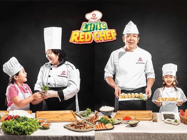 """Cùng con khám phá thế giới ẩm thực tại """"Little Red Chef"""" - Ảnh 1."""