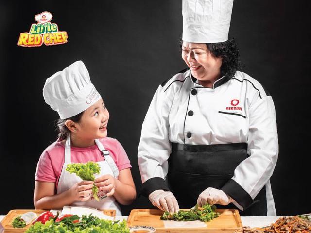 """Cùng con khám phá thế giới ẩm thực tại """"Little Red Chef"""" - Ảnh 5."""