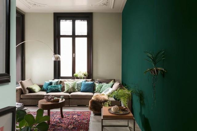 Những màu sơn nội thất giúp nới rộng không gian - Ảnh 3.