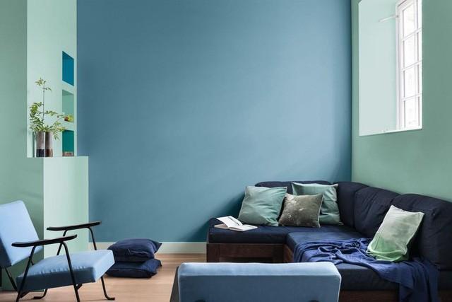 Những màu sơn nội thất giúp nới rộng không gian - Ảnh 4.