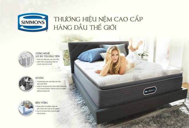 Simmons® Beautyrest® Lotus – Bản sắc Việt trên dòng nệm cao cấp hàng đầu thế giới - Ảnh 1.