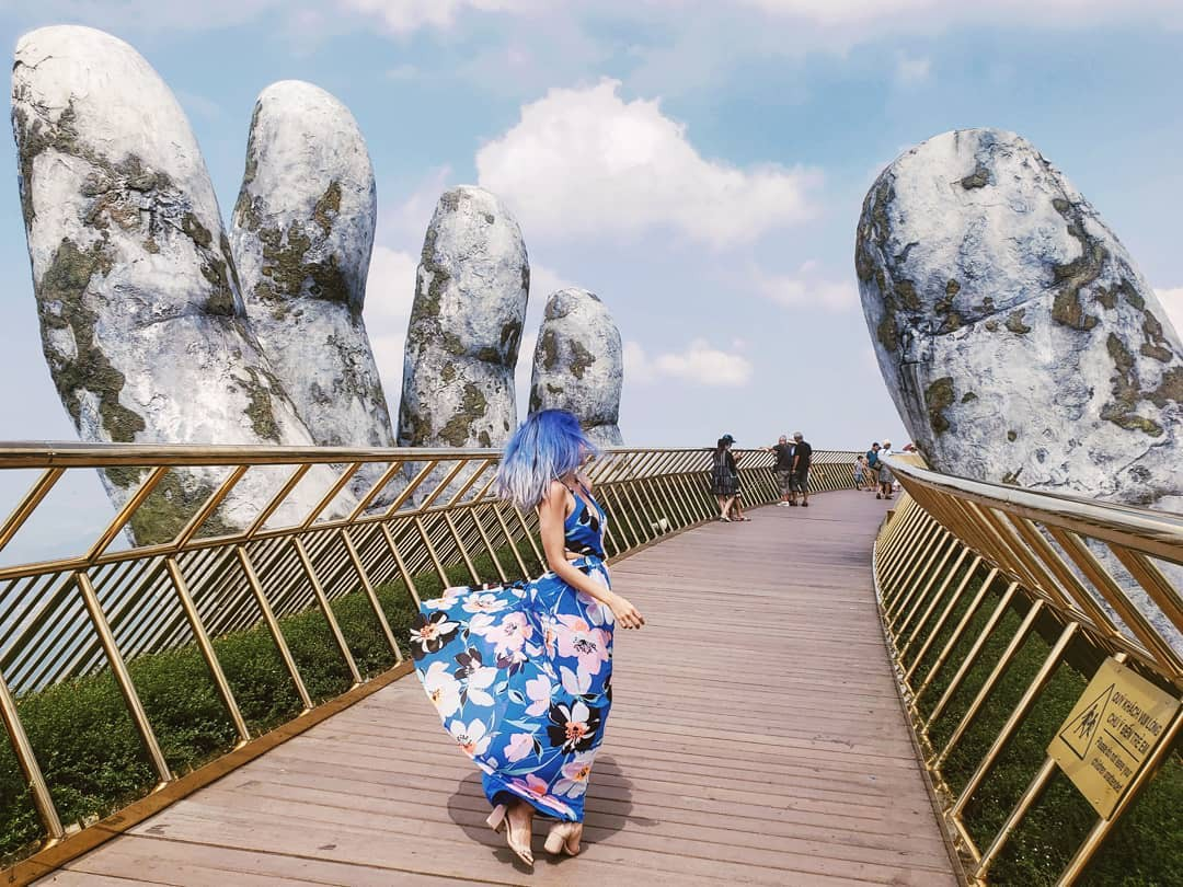 Tưởng Cầu Vàng ở Đà Nẵng là độc nhất, nào ngờ Trung Quốc cũng có phiên bản tương tự, lại còn đạt kỷ lục Guinness? - Ảnh 3.