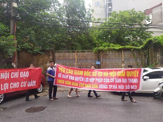 Hà Nội đối thoại với cư dân mua nhà của đại gia điếu cày - Ảnh 3.