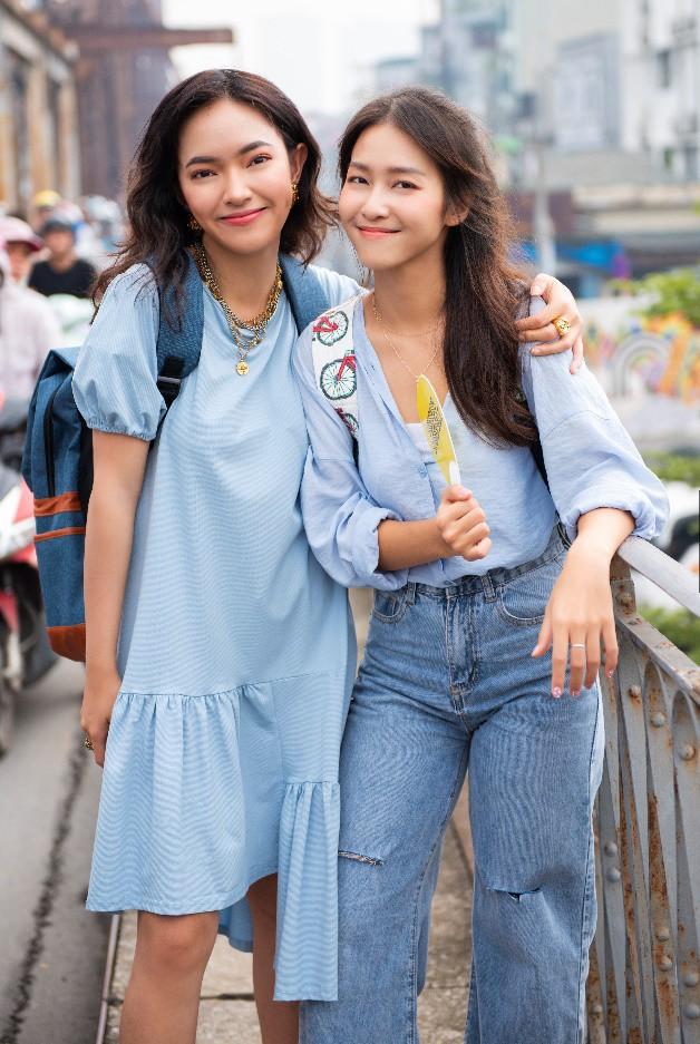 """Hết """"phá đảo"""" Sài Gòn, Châu Bùi – Khả Ngân tiếp tục """"oanh tạc"""" Hà Nội trong show thực tế City Girls - Ảnh 1."""