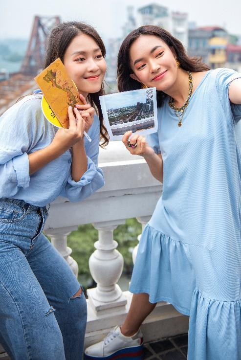 """Hết """"phá đảo"""" Sài Gòn, Châu Bùi – Khả Ngân tiếp tục """"oanh tạc"""" Hà Nội trong show thực tế City Girls - Ảnh 2."""
