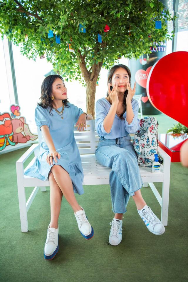 """Hết """"phá đảo"""" Sài Gòn, Châu Bùi – Khả Ngân tiếp tục """"oanh tạc"""" Hà Nội trong show thực tế City Girls - Ảnh 3."""