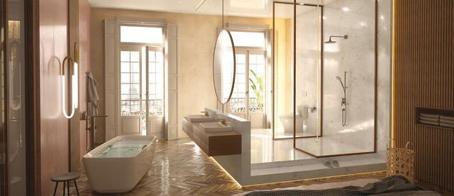 Nhìn thiết kế phòng tắm đoán tính cách gia chủ - Ảnh 1.