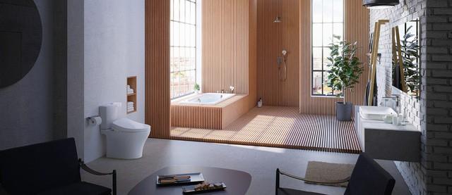 Nhìn thiết kế phòng tắm đoán tính cách gia chủ - Ảnh 3.