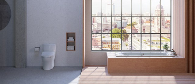 Nhìn thiết kế phòng tắm đoán tính cách gia chủ - Ảnh 4.