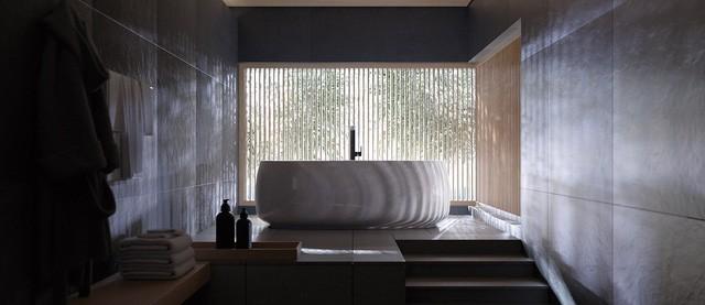 Nhìn thiết kế phòng tắm đoán tính cách gia chủ - Ảnh 6.