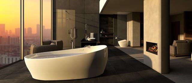 Nhìn thiết kế phòng tắm đoán tính cách gia chủ - Ảnh 8.