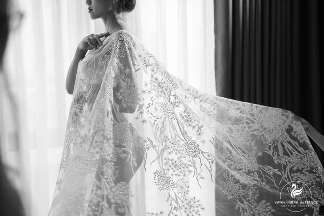 """Giải mã cơn sốt """"The Glamour Swan"""" của Swan Bridal trước mùa cưới 2020 - Ảnh 4."""