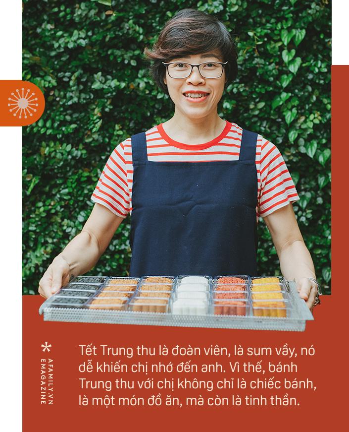 Food blogger Vũ Ánh Nguyệt: Người làm bánh Trung thu đợi đoàn viên cùng người thương vào... đêm trăng rằm - Ảnh 13.