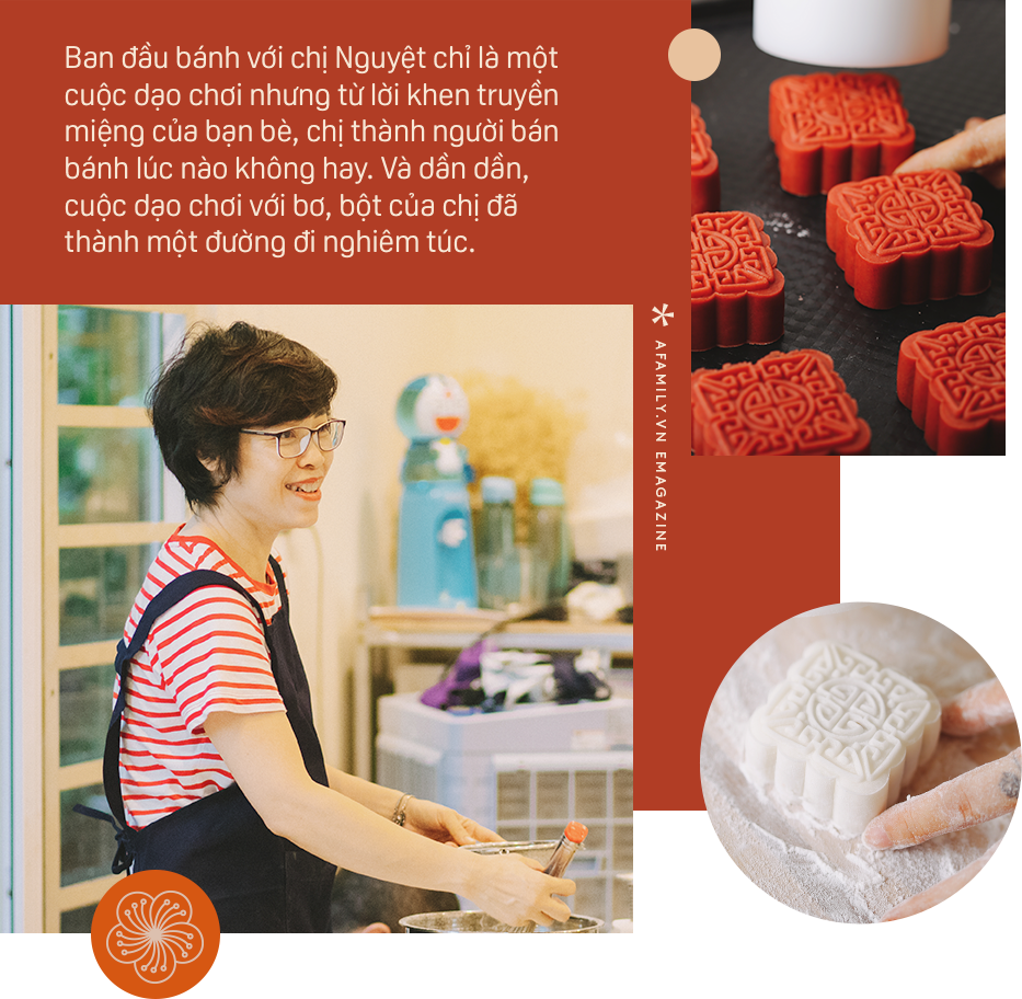 Food blogger Vũ Ánh Nguyệt: Người làm bánh Trung thu đợi đoàn viên cùng người thương vào... đêm trăng rằm - Ảnh 5.