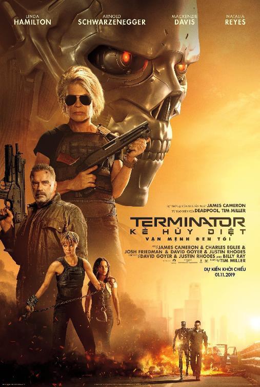 """""""Kẻ hủy diệt: Vận mệnh đen tối"""" tung trailer kịch tính không thể không xem - Ảnh 1."""