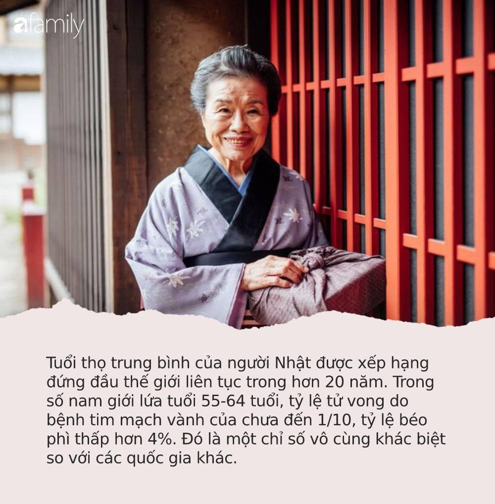 """Thì ra công thức """"sống thọ trăm tuổi"""" của người Nhật chỉ gói gọn trong 4 từ: Dễ làm nhưng hầu hết người Việt đều bỏ qua - Ảnh 1."""