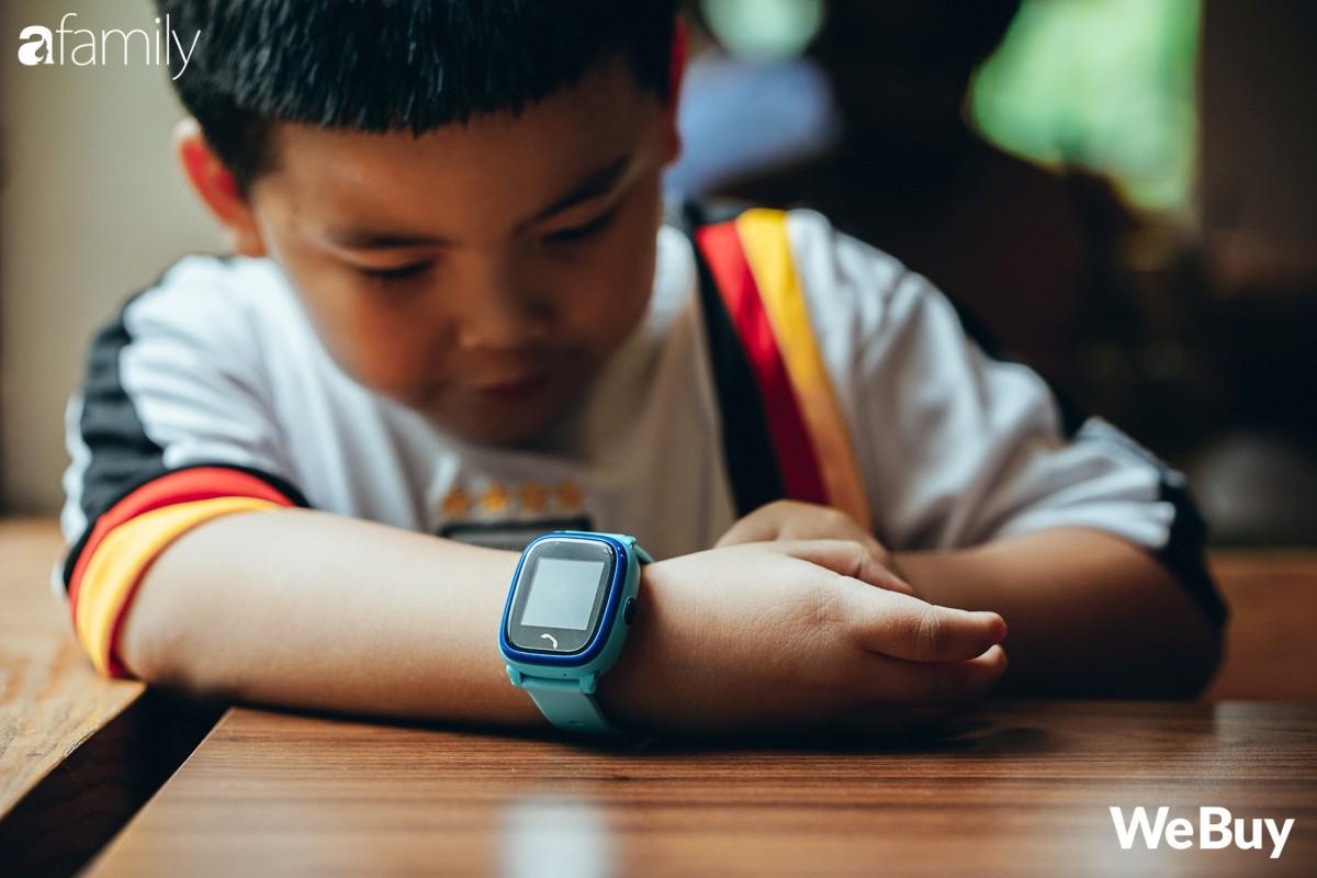 đánh giá đồng hồ định vị trẻ em wonlex gw400s webuy afamily DSC07948