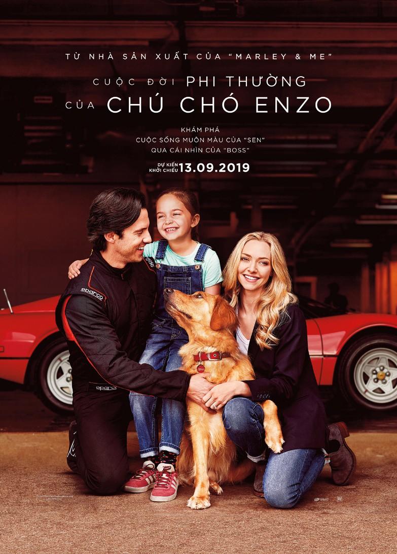 """Mỹ nhân """"Mamma Mia!"""" Amanda Seyfried gây thương nhớ trong bộ phim cảm động """"Cuộc đời phi thường của chú chó Enzo"""" - Ảnh 2."""