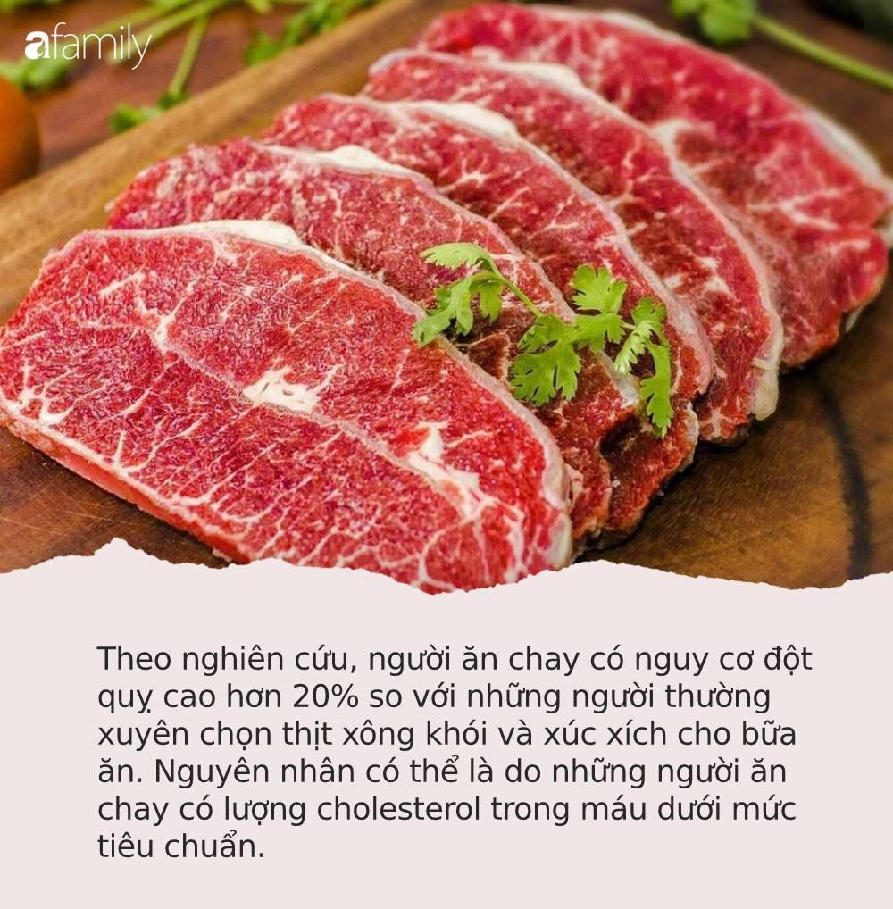 Ai cũng nghĩ ăn nhiều thịt hại sức khỏe nhưng nếu bỏ ăn thịt hãy cẩn thận với căn bệnh nguy hiểm này - Ảnh 1.