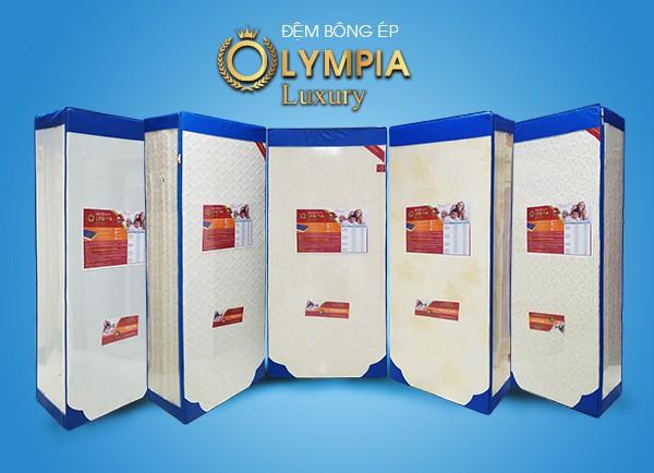 Chăn ga gối đệm Olympia ra mắt đệm bông ép cao cấp mới - Ảnh 1.