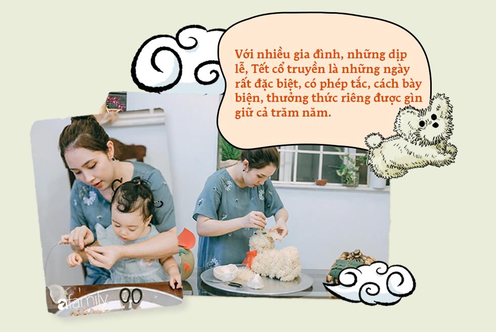 Tinh tế, cầu kỳ như Trung thu truyền thống của người Hà Nội: Chừng nào người lớn còn mặn nồng, truyền thống làm sao mà nhạt được - Ảnh 9.