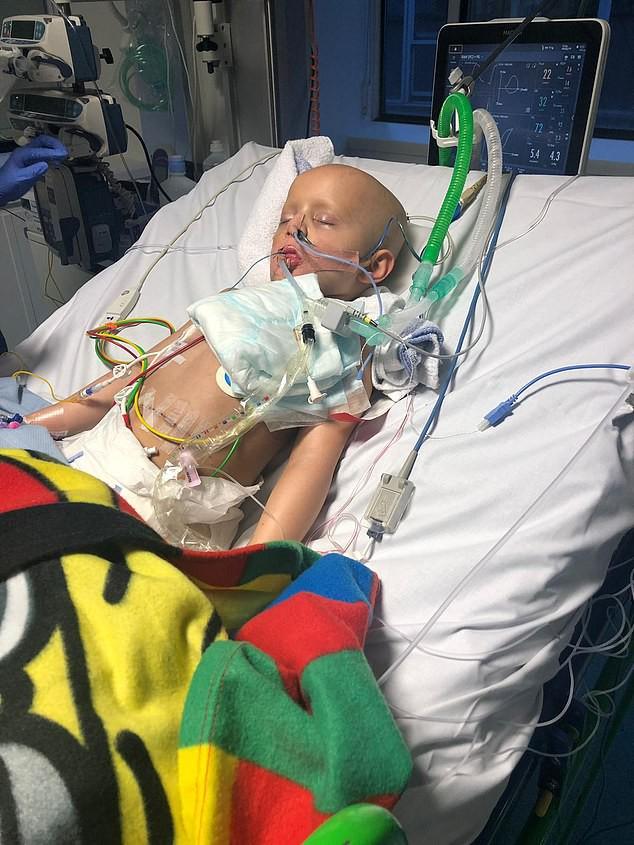 """Mắc bệnh ung thư toàn thân cực hiếm, cậu bé 5 tuổi """"hồi sinh"""" từ cõi chết một cách thần kỳ - Ảnh 4."""