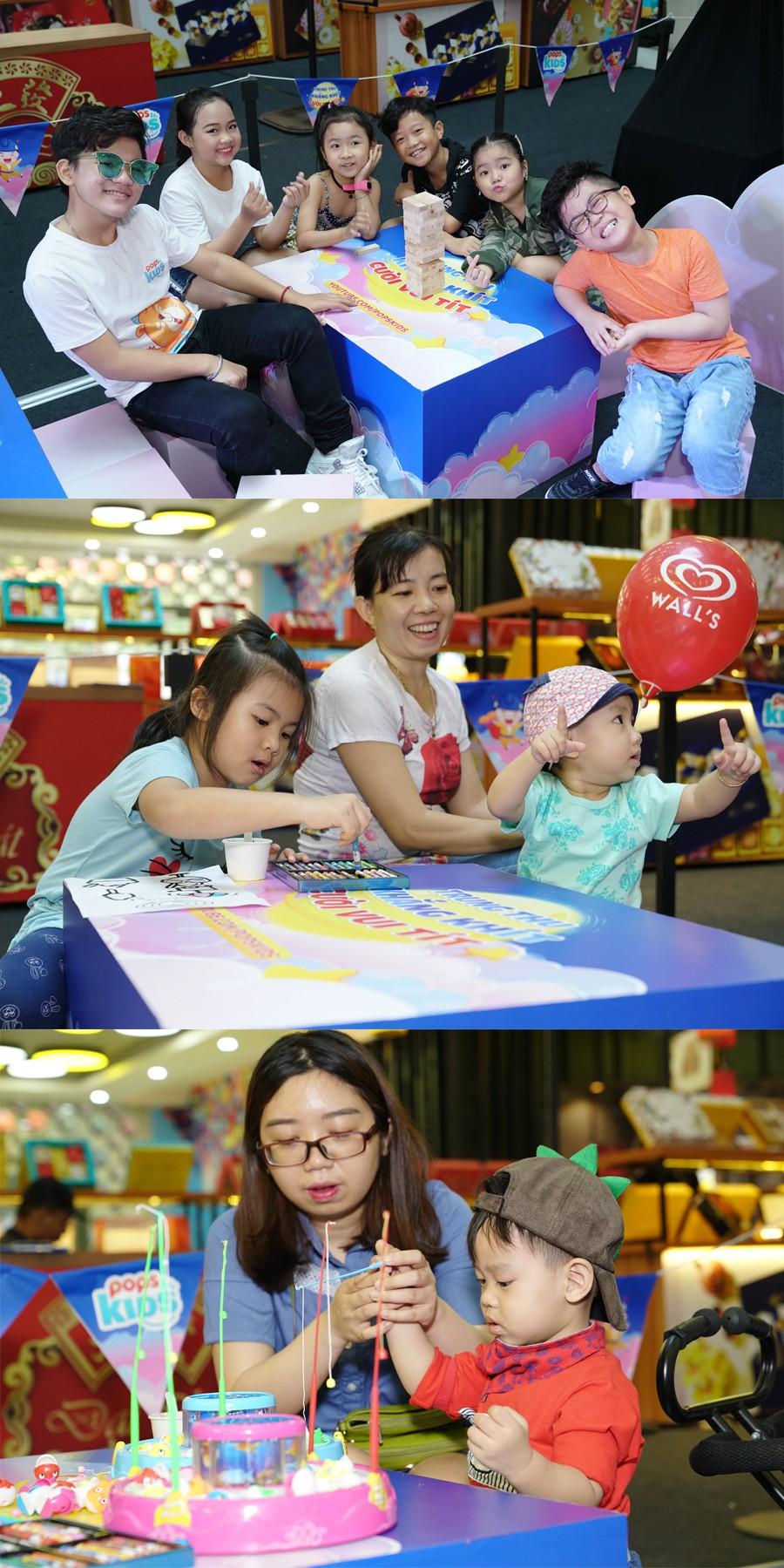 """Hàng ngàn bé yêu """"cười vui tít"""" tại ngày hội trăng rằm cùng POPS Kids - Ảnh 9."""