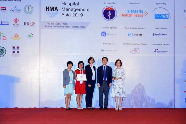 """Vinmec được vinh danh là """"Bệnh viện Việt Nam tiến bộ nhất"""" và """"An toàn người bệnh"""" - Ảnh 2."""