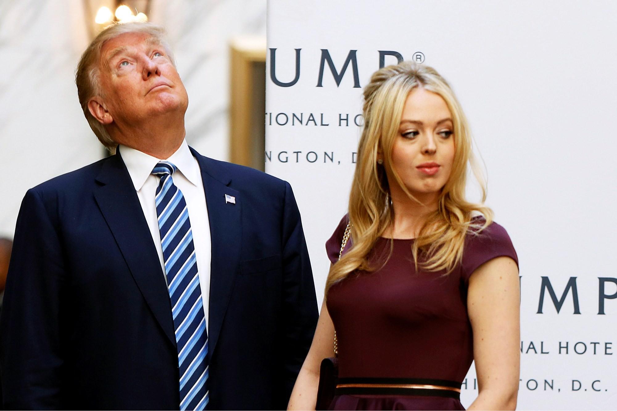 Donald-and-Tiffany-Trump