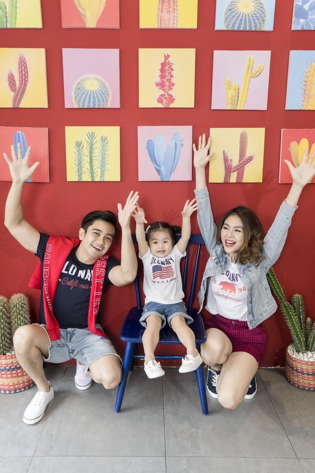 Học cách phối đồ mùa thu ton-sur-ton cùng gia đình diễn viên Vân Trang - Ảnh 4.