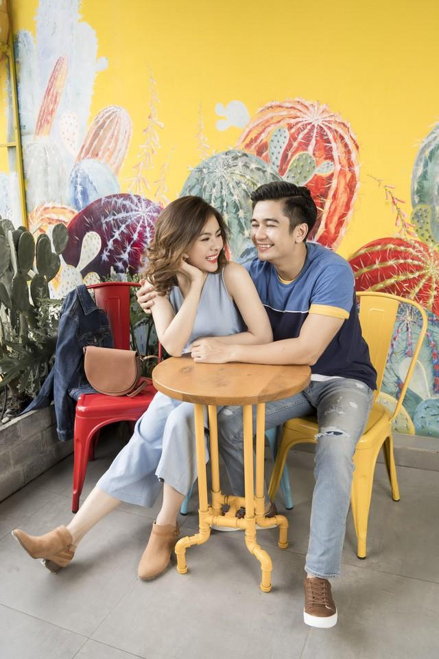 Học cách phối đồ mùa thu ton-sur-ton cùng gia đình diễn viên Vân Trang - Ảnh 6.