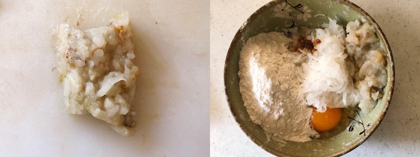 Bánh tôm củ cải ngọt ngon dinh dưỡng - Ảnh 2.