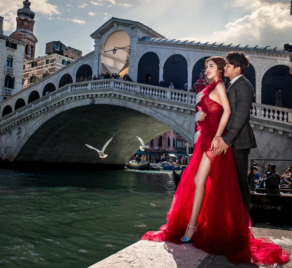 Nàng Rich kid Giang Lê tung bộ ảnh cưới xuất sắc tại Paris, chú rể hóa ra từng là người tình tin đồn của Angela Phương Trinh - Ảnh 8.