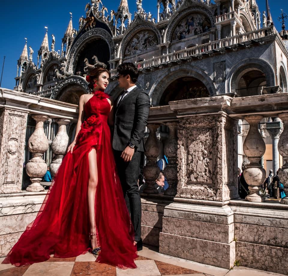 Nàng Rich kid Giang Lê tung bộ ảnh cưới xuất sắc tại Paris, chú rể hóa ra từng là người tình tin đồn của Angela Phương Trinh - Ảnh 11.