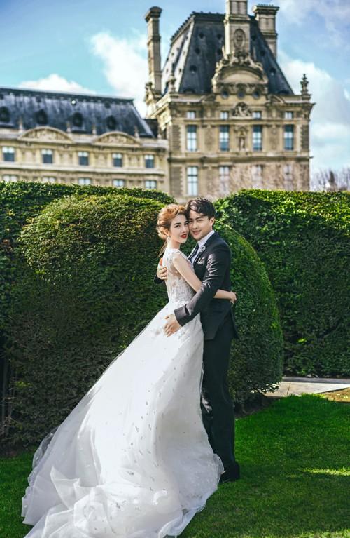 Nàng Rich kid Giang Lê tung bộ ảnh cưới xuất sắc tại Paris, chú rể hóa ra từng là người tình tin đồn của Angela Phương Trinh - Ảnh 5.