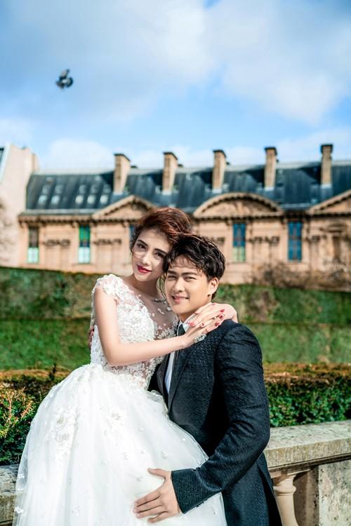 Nàng Rich kid Giang Lê tung bộ ảnh cưới xuất sắc tại Paris, chú rể hóa ra từng là người tình tin đồn của Angela Phương Trinh - Ảnh 6.