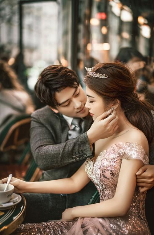 Nàng Rich kid Giang Lê tung bộ ảnh cưới xuất sắc tại Paris, chú rể hóa ra từng là người tình tin đồn của Angela Phương Trinh - Ảnh 7.