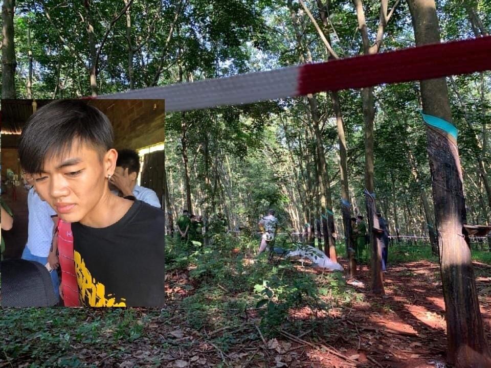Nóng: Bắt giữ hung thủ nghi sát hại, hiếp dâm thiếu nữ 16 tuổi ở rừng cao su - Ảnh 1.