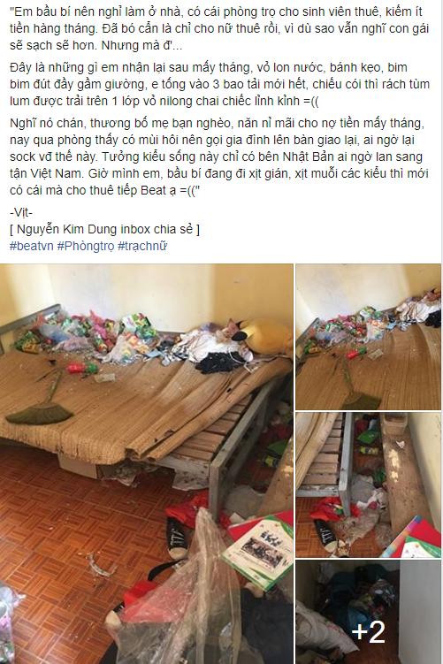Đã cẩn thận đăng biển chỉ cho nữ thuê phòng, vậy mà sau mấy tháng, chủ nhà hết hồn khi nhận phòng về là bãi rác kinh dị - Ảnh 1.
