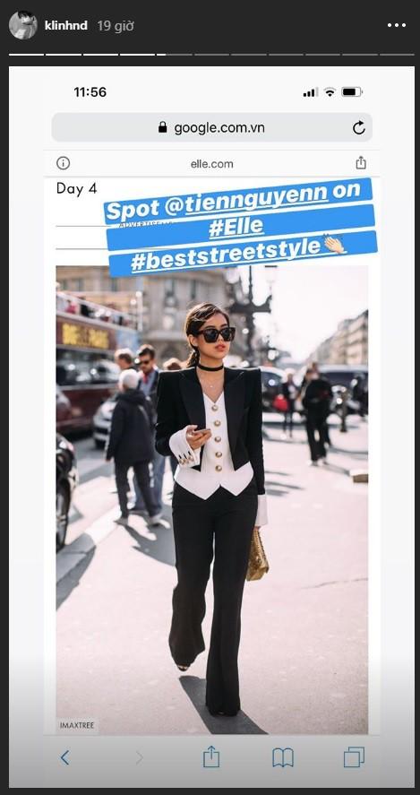"""Rich kid Thảo Tiên vừa lên đồ """"chất ngất"""" đã lọt ngay vào top street style đẹp nhất Paris Fashion Week - Ảnh 3."""