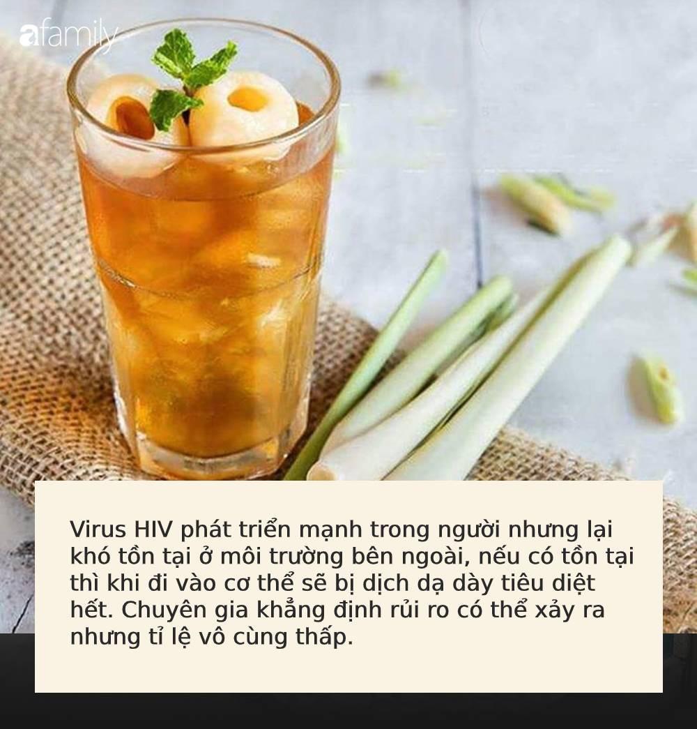 Uống cốc trà vải chứa băng keo cá nhân đã qua sử dụng, khách hàng có khả năng nhiễm HIV: Chuyên gia nói gì? - Ảnh 3.